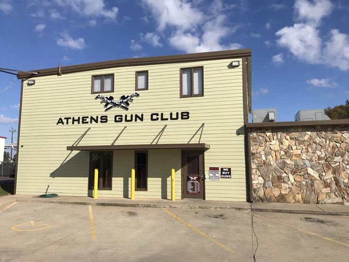 Athens Gun Club – Indoor Gun Range